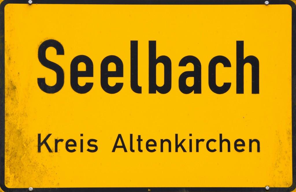 Ortsschild Seelbach