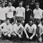 1984 | Die erste MFS-Mannschaft auf dem Fußballplatz Keifhecke