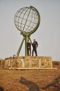 Juni 1983 | Die MFS am Nordkap Foto: Archiv MFS