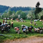 1988 | Bis zu 300 Besucher am Samstag zum 5. Motorradtreffen