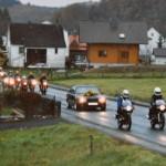 Oktober 1994 | Hupender Bikerkorso zur Hochzeit durch Seelbach