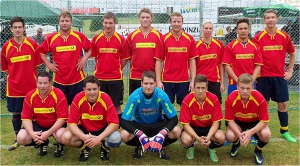 2015 | Fußballmannschaft beim Turnier in Birnbach