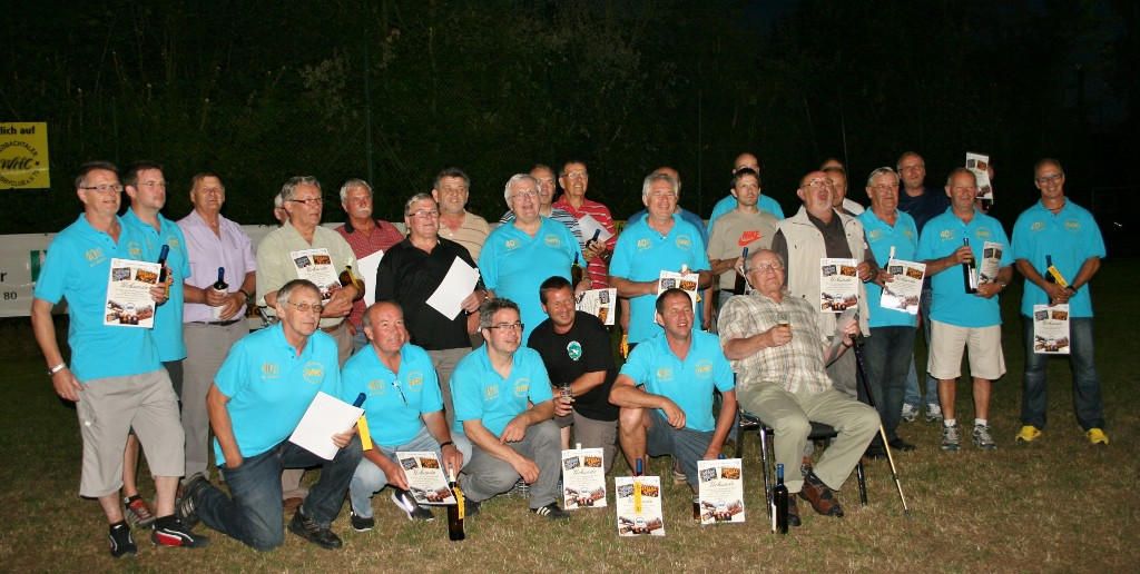 August 2013 | 40 Jahre Wiedbachtaler Hobbyclub: Mitgliederehrung