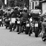 Juli 2016 | Motorradkorso zu einer Hochzeit in Flammersfeld