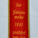 "Wimpel zur Fahne des Männergesangvereins ""Wiedklang"""