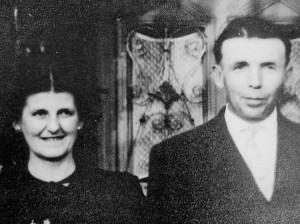 Erich Klein mit Frau Emilie Archiv: Irmhild und Sigmar Klein