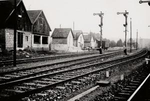 September 1940 | Landhandel August Sohnius  am Bahnhof Flammersfeld in Seelbach Archiv: Hildegard Jeuck
