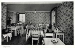 1956 | Ansichtskarte des Tagesraums Archiv: B+Y Schäck
