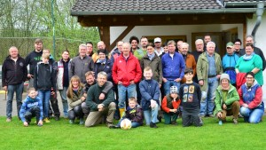 Gruppenbild auf der Henry-Hütte Foto: Burkhard Schäck