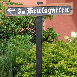 Im Beuelsgarten Foto: Wilfried Klein