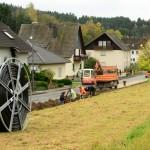 Oktober 2017 | Verrohrung der Langstreckenverbindung Waldstraße-Hohlweg Steinhard