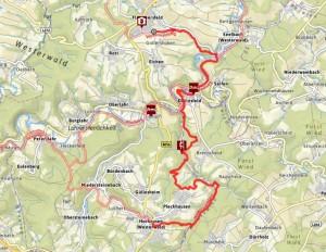 Westerwaldsteig Etappe 13 | Flammersfeld-Horhausen Karte: Outdooractive