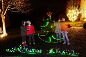 Adventstürchen 10 | Weihnachtliche Lichtmalerei Foto: Y+B Schäck