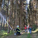 21.09.2019 Brandschutzübung in der Geisaue © Ellen Wirth